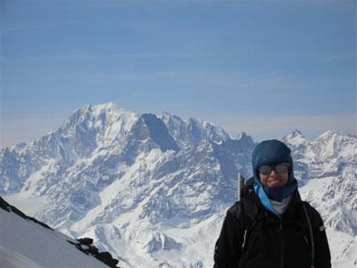 Le Mont Blanc, enfin !