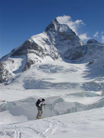 Sous le Matterhorn
