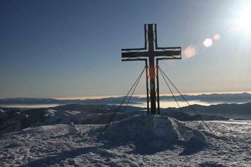 Croix sur le Hochschwab