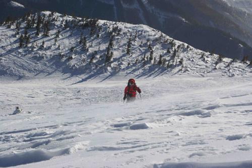 Affronter le vent glacé